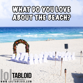 What do you love about the beach?